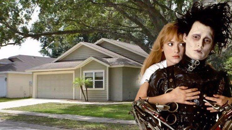 Dům z filmu Střihoruký Edward je na prodej: Podívejte se, jak to v něm dnes vypadá