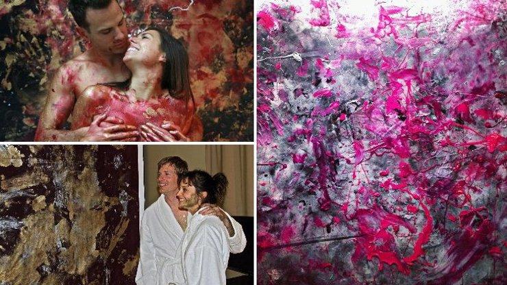 Nová forma moderního umění: Tyhle obrazy vznikají jedním specifickým pohybem, uhodnete jakým?
