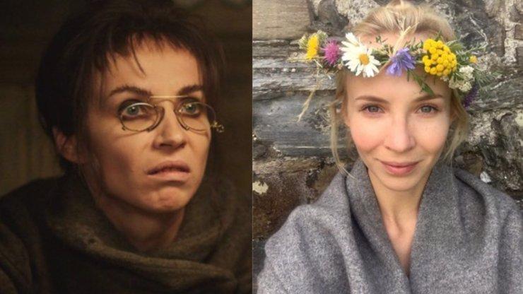 Dvě tváře Jany Plodkové: Něžná kráska se v pohádce Hodinářův učeň změnila v ošklivého zloducha