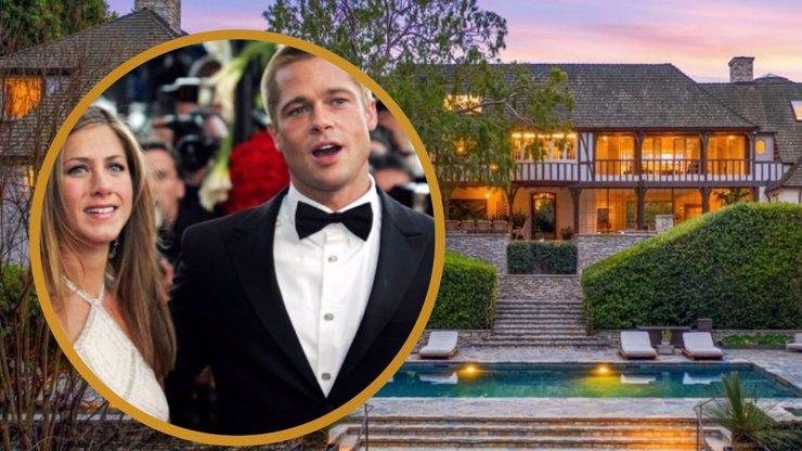 Prokletý dům, kde bydlel Brad Pitt s Jennifer Aniston: Nikdo ho nechce ani se slevou