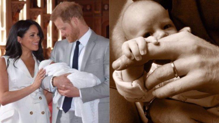 Miminko Meghan a Harryho roste jako z vody! Roztomilý snímek Archieho dojímá svět