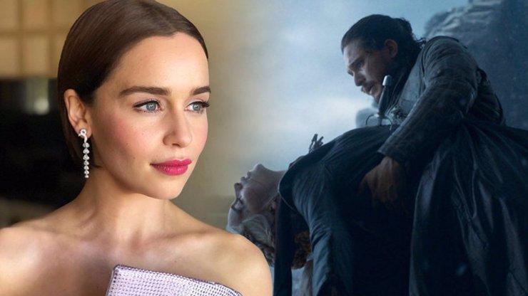 Při čtení scénáře jsem plakala: Emilia Clarke řekla, co bylo po smrti s Daenerys ze Hry o trůny