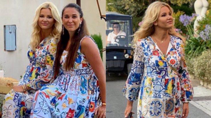 Stylová dovolená: Monika Babišová se sladila s kamarádkou, v ulicích Francie září jako modelky