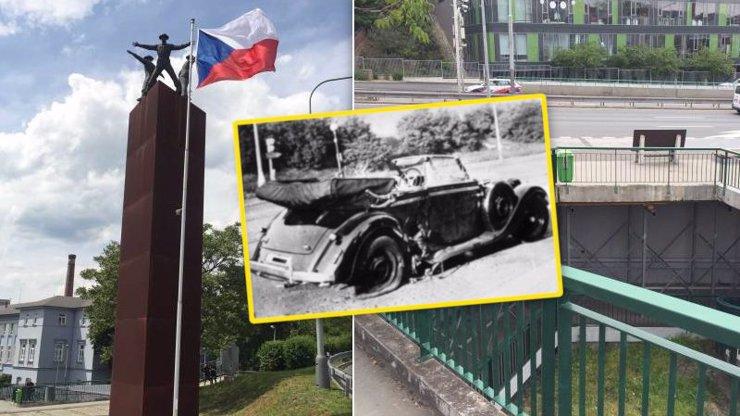 Před 77 lety parašutisté udeřili na Heydricha: 20+ fotek z míst, kde začala smrt tyrana!