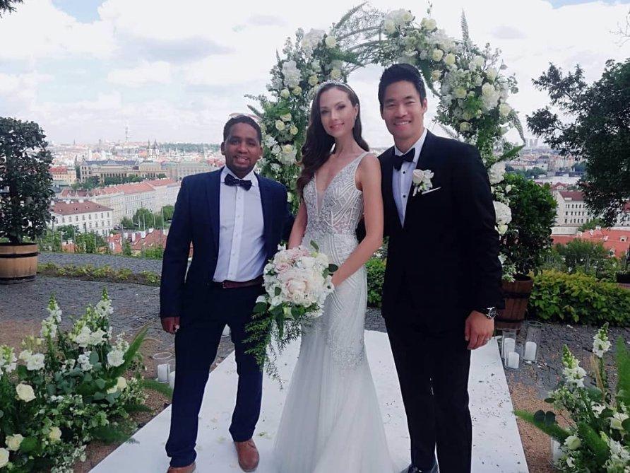 Markéta a David se vzali.
