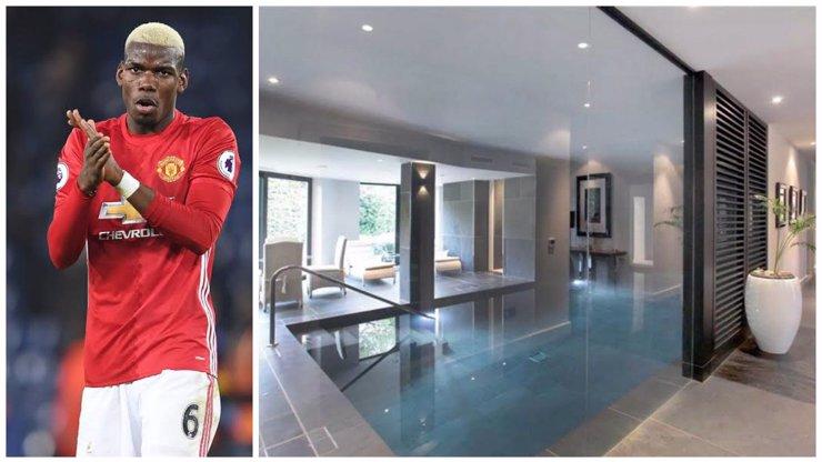 Dům snů má 5 ložnic a vyhřívaný bazén. Hvězda Manchester United Paul Pogba si žije jako král!
