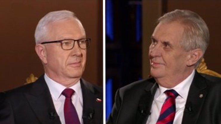 Poslední debata před volbami: Drahoš spojil Zemana s mafiány. Už nemá zemi co dát, prohlásil