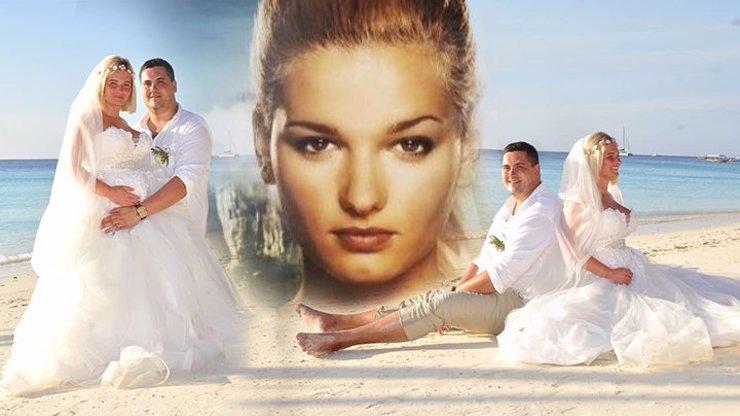 Robinsonka Kateřina Šuriaková měla svatbu jako řemen: Pod nadýchanými šaty nosí chlapečka