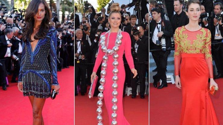 2. díl módního speciálu z Cannes: Druhý den festivalu děsila ruská příšerka s obrovskými korály! Co ostatní?