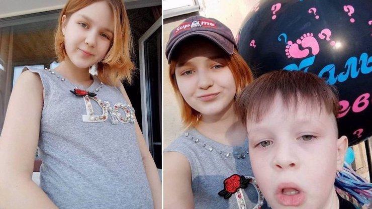 Dáša (14) se raduje z narození miminka: Mladá Ruska na svět přivedla zdravou holčičku