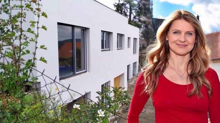 Lucie Šafářová už má skoro dostavěno: Její nový pražský dům září novotou