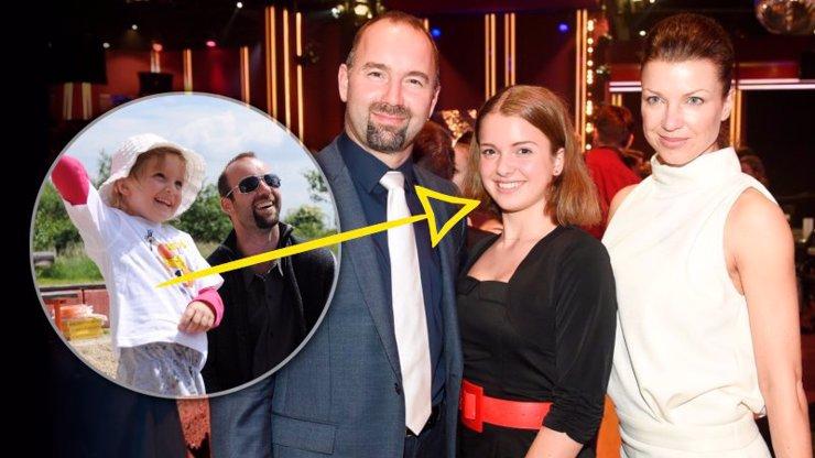 Ta ale vyrostla: Dcera olympijského hrdiny Aleše Valenty je půvabná slečna