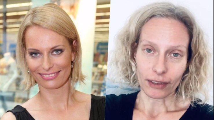 Kristina Kloubková se nebojí odhalit realitu: Moderátorka ukázala tvář bez make-upu