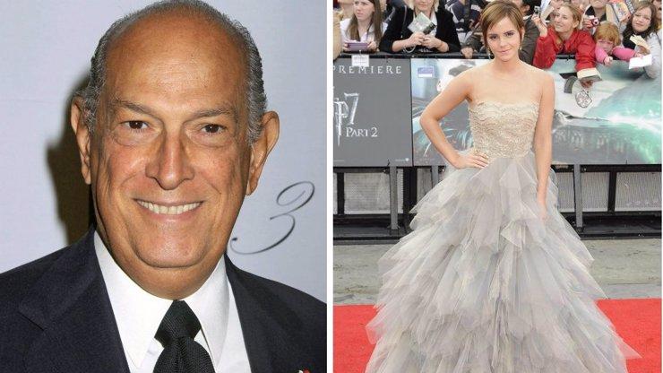 Zemřel návrhář Oscar de la Renta, jehož šaty udělaly z lolitky Emmy Watson svůdnou dámu