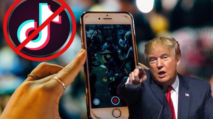 Donald Trump chce v USA zakázat TikTok: Je to čínská špionáž, míní prezident
