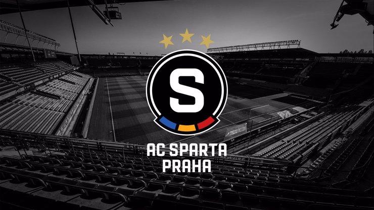 Fotbalová Sparta mění logo: Klub se zahalil do černé