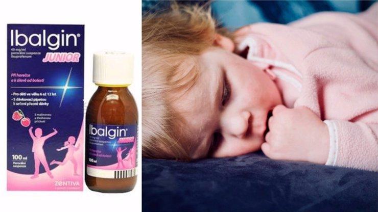 Nejznámější lék pro děti má ohrožovat jejich zdraví. Máte ho doma také?