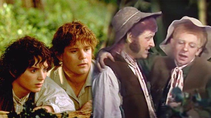 Sovětská verze Pána prstenů: Padesátník Frodo, Legolas má prsa a Glum jako vodník Česílko