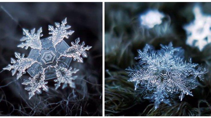 Myslíte si, že na světě neexistuje dokonalost? Podívejte se na tyhle perfektní vzory sněhových vloček!