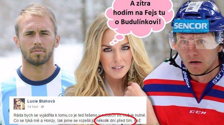 Eratova hokejová Liduška tasila na Facebooku hodně zoufalou pohádku o tom, jak Štohanzlovi nenasadila parohy s bramborovým ženáčem!