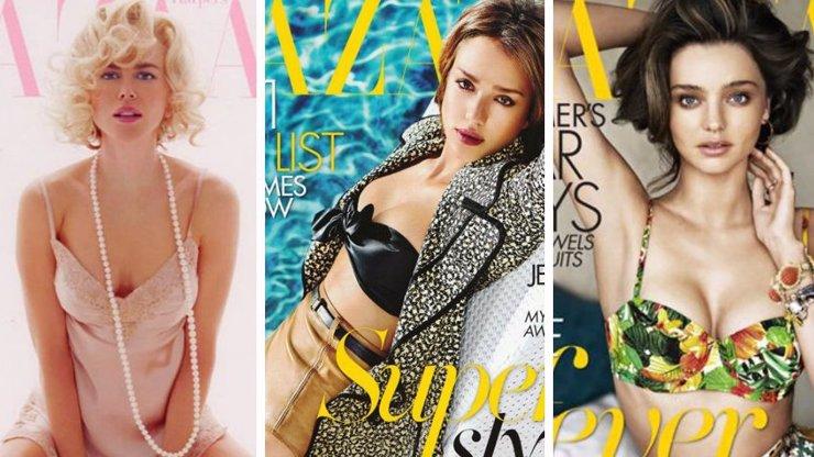 10 sexy obálek časopisu Harper's Bazaar: Jaká je ta nej?