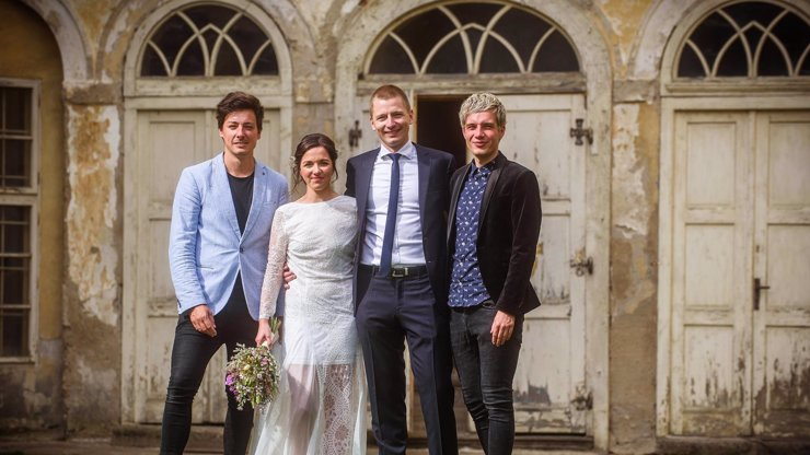 Matěj Stropnický a Daniel Krejčík uspořádali veselku: Z ruiny se stává zámek pro svatby