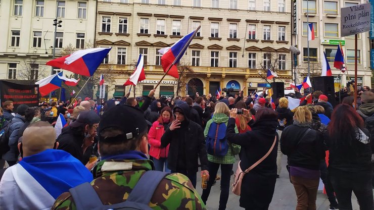 Demonstrace proti