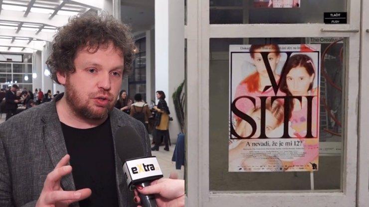 Vít Klusák o filmu V síti: My ukazujeme, co to s děvčaty dělá i v bezpečí ateliéru, říká