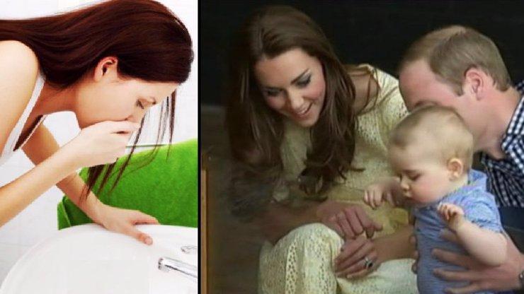 Není to jen zvracení! Celá Velká Británie se bojí toho, co těhotnou Kate čeká!