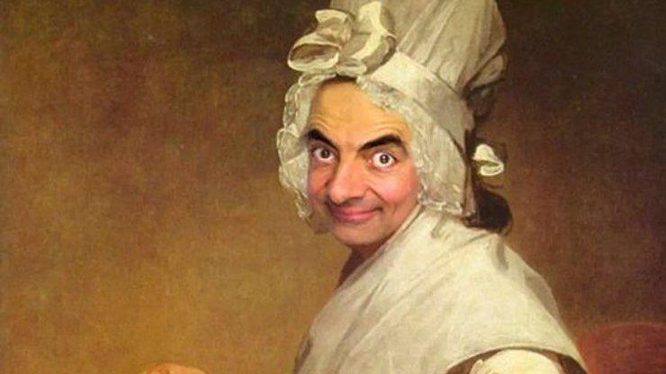 Tolik práce a přitom taková blbost! Internetem letí malby s obličejem Mr. Beana, tady je 10 nej