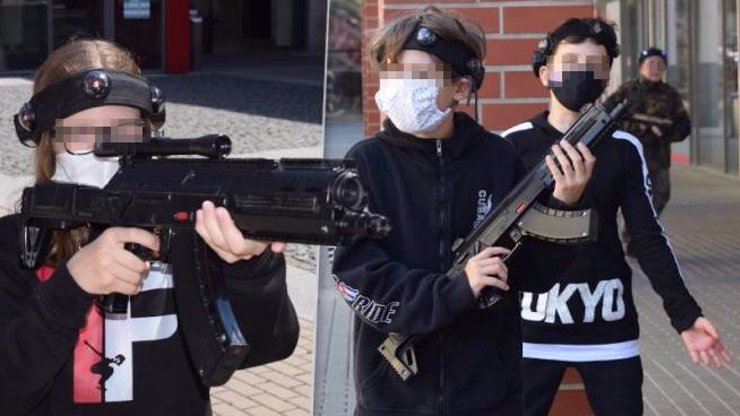 Hazard se životem? Děti se zbraněmi v Ústí vyvolaly poprask, hrozí jim pokuta až 10 tisíc