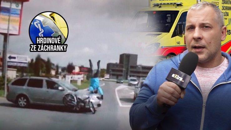 Hrdinové ze záchranky: Boj o život je otázkou sekund! Bezohledný řidič zvyšuje smrtící riziko
