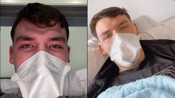Mladík zaměnil příznaky s astmatem, byl to koronavirus: Myslel jsem si, že umřu, říká