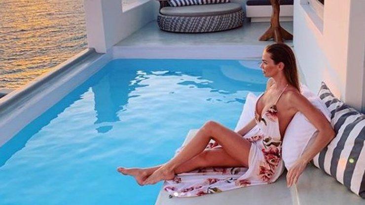 Andrea Verešová (38) si užívá na dovolené: Takovou postavičku jí může závidět každá