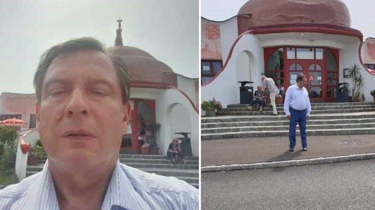 Po čase stráveném s dcerou si Jiří Paroubek užívá dovolené: Pochlubil se selfie z Rakouska
