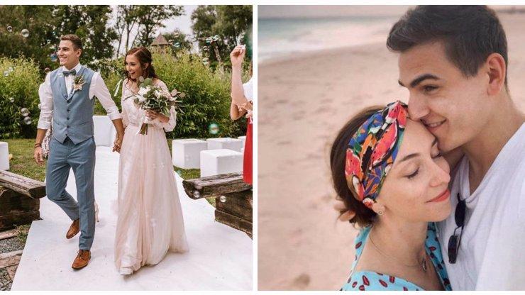 První foto z přísně UTAJOVANÉ svatby fešáka Gránského: Dojemné vyznání krásné manželce
