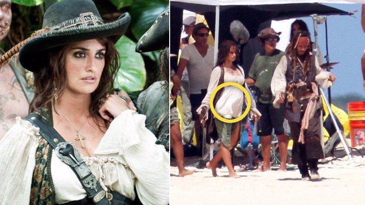 Penélope Cruz byla v Pirátech z Karibiku těhotná: Známe její největší tajemství
