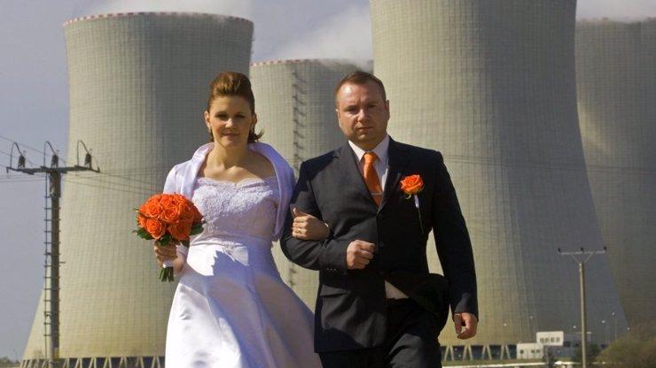 Svatba v Temelíně?! Každý si tu romantiku představujeme asi trochu jinak