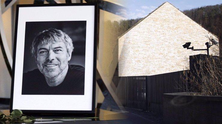Kellnerovo sídlo 11 dní po tragédii: Ochranka na každém rohu a desítky kamer