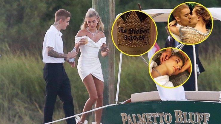 Druhá svatba Justina a Hailey Bieberových: Hvězdní hosté popíjeli šampaňské s diamanty