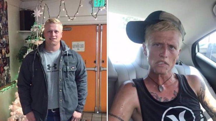 Drogy mu vzaly duši: Z pohledného mladého tatínka (26)  se stal vykroucený narkoman