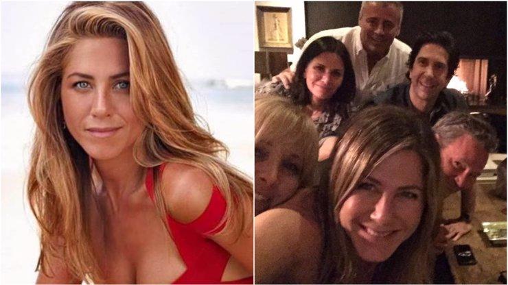 Jennifer Aniston zbourala Instagram: Ukázala, jak vypadá slavná šestice Přátel po letech