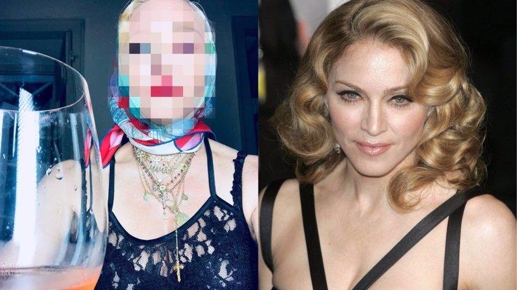 Madonna šokuje svým vzhledem! Děsivě zestárla a vyfotila se jako ruská bábuška
