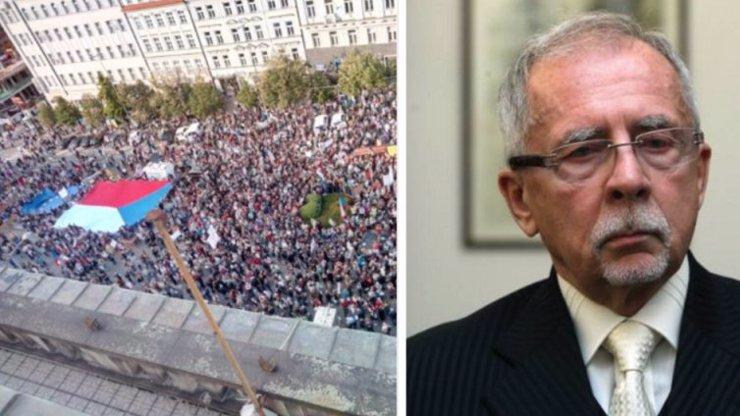 Milion chvilek svolává demonstraci: Proti zvolení Křečka se bude protestovat v centru Prahy