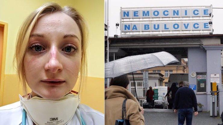 Zoufalství lékařky z Bulovky: Lidé lžou o příznacích a kradou roušky. Nespíme ani nejíme