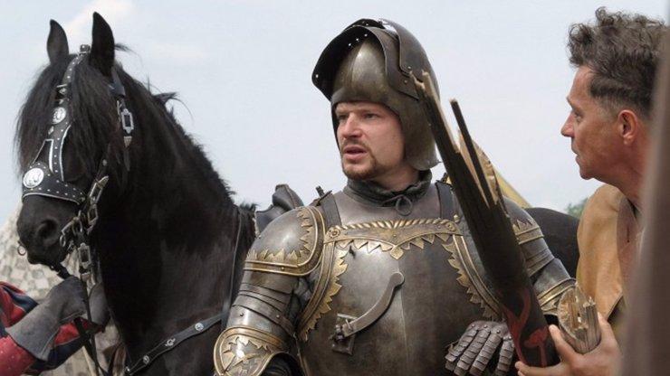 Zákulisí pohádky Korunní princ: Kryštof Hádek se během natáčení málem zmrzačil