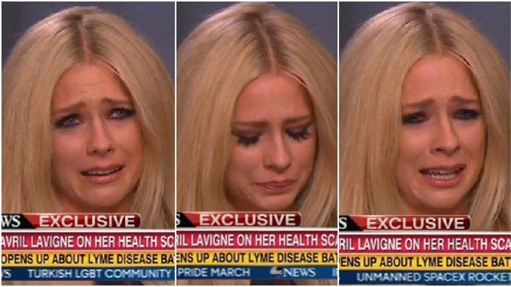 Avril Lavigne se sesypala přímo během interview!