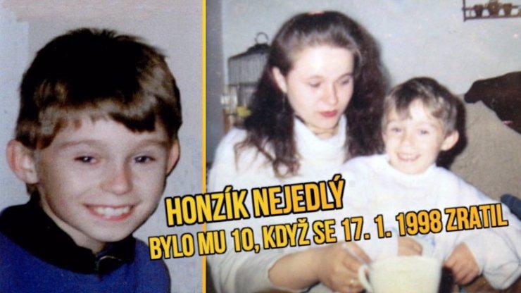 NIKDY HO NENAŠLI: Honzík Nejedlý zmizel před 20 lety! Maminka stále doufá, tatínka zabila rakovina