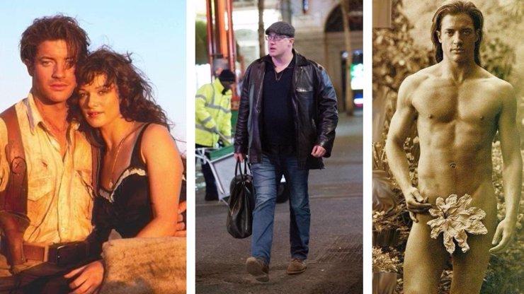Krasavec z filmu Mumie Brendan Fraser je k nepoznání: Stal se z něj stokilový parní válec