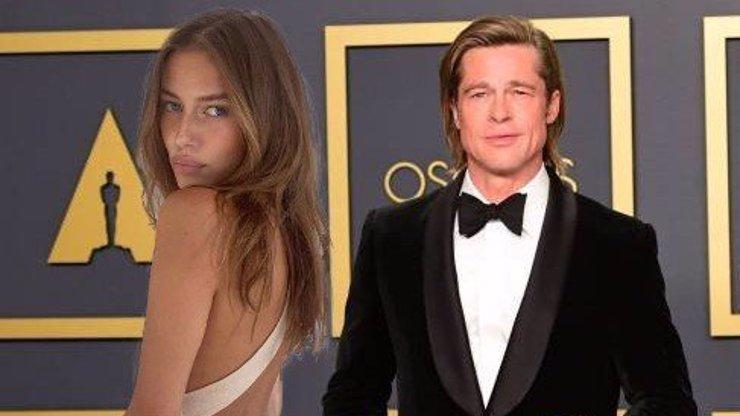 Brad Pitt randí s vdanou ženou: Modelce Nicole Poturalski manžel vztah s hercem povolil
